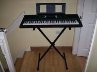 Yamaha PRS E343 Electronic Keyboard with accessories