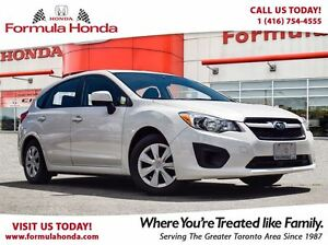 2013 Subaru Impreza 2.0i | ONE OWNER | ACCIDENT FREE | ALL WHEEL