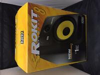 KRK RP8 G3 Rokit G3 Powered 2-Way Active Studio Monitors / Speakers. / As New !