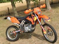 KTM 250 EXC 2003 4 stroke Road Legal