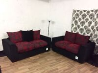 New Natalie 2+2 seater sofas FREE DELIVERY
