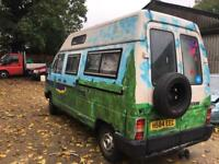 Reanult traffic 20td motorhome/campervan/ - mot - towbar runs and drives