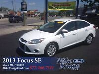 2013 Ford Focus SE *SYNC *Rated 5.5L/100 kms HWY