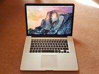 "Apple MacBook Pro 15"" Retina / Current Top Spec / MINT / AppleCare / RRP £2278"