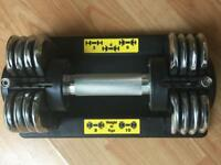 Golds gym Dumbbell set 2 KG to 10kg