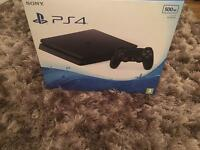 BLACK PS4 SLIM 500GB LIKE BRAND NEW BOXED FULLY WORKING ( Can Deliver )