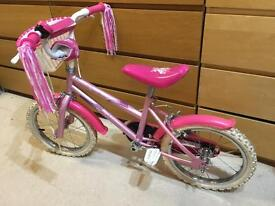 Girls bike - sparkle and glitz 16""