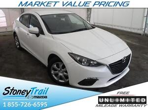 2016 Mazda Mazda3 GX at - UNLIMITED MILEAGE! BACKUP CAMERA! PUSH