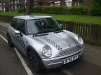mini one 2002 mot jan full history cooper s alloys mirrors aircon hpi clear drives well pearl silver