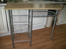 KITCHEN BAR,STORAGE UNIT.FREE DELIVERY LOCAL TO NEW MILTON