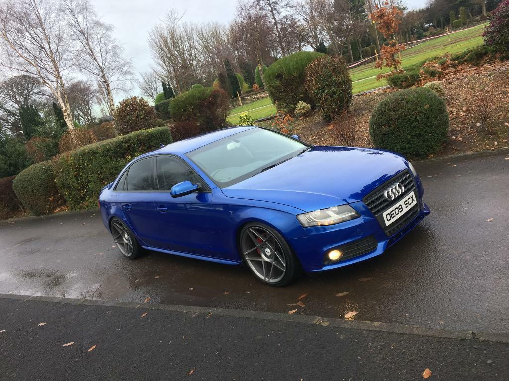 2009 Audi A4 Sepang blue * Finance now* | in Limavady, County Londonderry | Gumtree