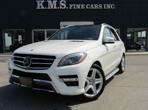 2013 Mercedes-Benz M-Class ML 350 4MATIC| V6 GAS!!| AMG SPORT| D
