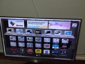 55 Panasonic TXL55DT65B Viera 1080p Freesat HD Freeview HD Smart 3D LED