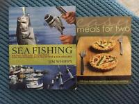 Books 50p each. Fishing / cooking