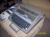 For Sale: Sharp Model QL-210 Portable Electronic Typewriter