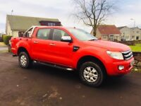 13 Ford Ranger XLT Double Cab Pick Up