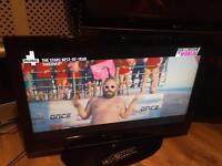 "Samsung 37"" lcd TV free view HDMI USB scart ect"