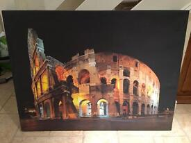 Rome Italy colosseum picture canvas