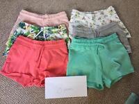 Girls 8 years shorts