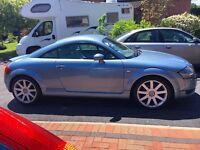 Audi TT 2003 Cumulus Blue with Cream Interior
