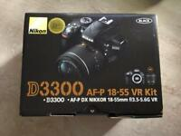 Nikon D3300 VR DSLR Camera - Boxed *as new & under JL guarantee!*