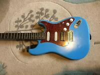 Squier stratocaster electric project guitar