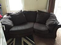 Brown corner sofa OPEN TO OFFERS!!