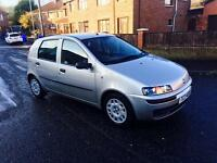 "2003 FIAT PUNTO 1.2L """"5000000"""" MODEL 5-DOOR HATCHBACK, MOT JULY 2017 , ONLY 60k £750"