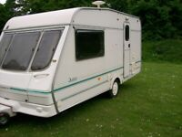 swift jura 2 berth end shower room motor mover awning exc condition