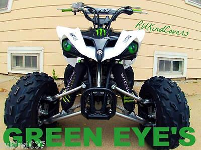 KFX700 650 Brutforce Green Headlight Covers