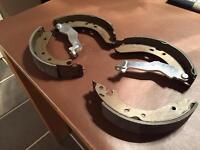 MG ZR 105 rear brake shoe set
