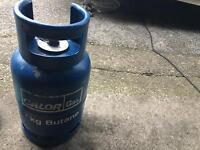 Caravan gas bottle
