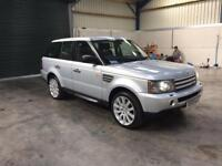 2007 Range Rover sport hse tdv8 leather sat nav 1 owner fsh guaranteed cheapest in country