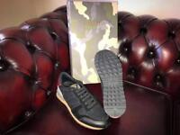 Black Valentino Garavani Mesh Rockrunner Sneakers trainers