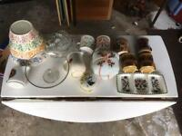 Joblot of Vintage Pottery and Glass - Antique Retro Vintage - Fayres or Carboots