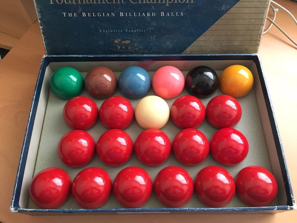 Belgian Aramith Balls