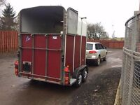 Ifor William 510 double horse trailer