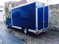 2014 14 Renault Master Low Loader LWB 2.3 DCI Luton Loloader Horsebox Camper Burger Van **GRP BODY**