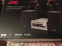 Jvc hi-fi with dab radio .