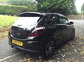 Vauxhall Corsa black edition 37k carbon black