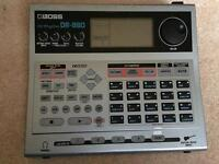 Boss DR 880 Drum Machine.