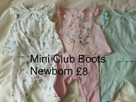 Boots Mini Club small bundle