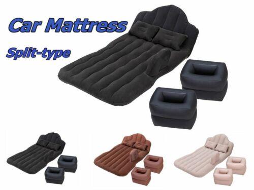 Inflatable Car Mattress With Pillows Inflator Pump Home Beac