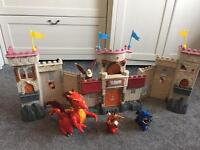 IMAGINEXT CASTLE DRAGON KNIGHTS FIGURES