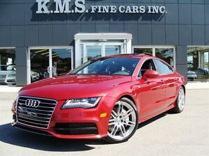 2012 Audi A7 Premium Plus| S-LINE| L.E.D HEADLIGHTS|