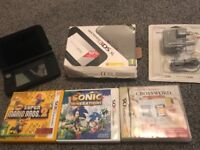 Nintendo 3DS xl Black/silver