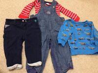 Boys clothes age 6-9 months