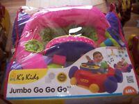 K kids jumbo go go go in pink