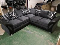 1 YEAR WARRANTY ON DECENT BRAND NEW SHANNON CORNER AND 3+2 SOFA IS AVAILABLE AS WELL ORDER NOW