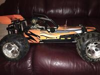 2/ stroke rc Yama buggy car is now sold